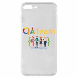 Чехол для iPhone 8 Plus QA+TEAM
