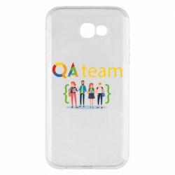 Чехол для Samsung A7 2017 QA+TEAM