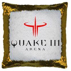 Подушка-хамелеон Quake 3 Arena