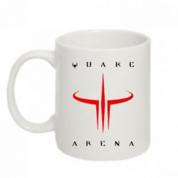 Кружка 320ml Quake Arena