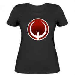 Женская футболка Quake Logo - FatLine