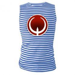 Майка-тельняшка Quake Logo - FatLine
