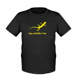 Детская футболка Quattro - FatLine