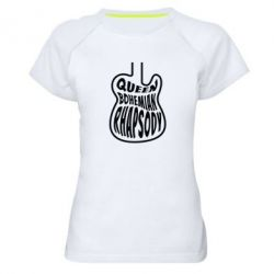 Жіноча спортивна футболка Queen Bohemian Rhapsody