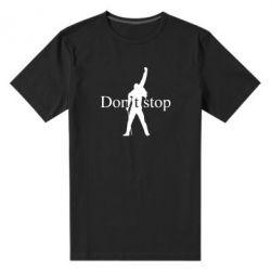 Чоловіча стрейчева футболка Queen Don't stop