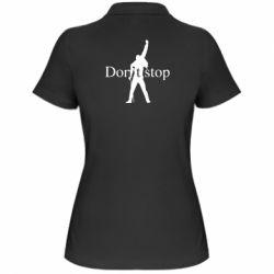 Жіноча футболка поло Queen Don't stop
