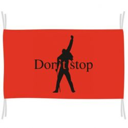 Прапор Queen Don't stop