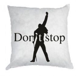 Подушка Queen Don't stop