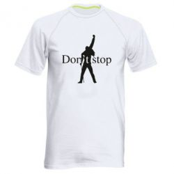 Чоловіча спортивна футболка Queen Don't stop