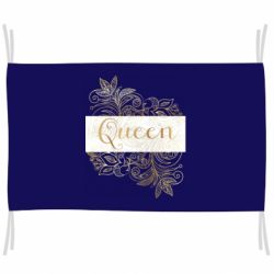 Прапор Queen gold pattern