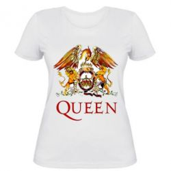 Жіноча футболка Queen logo 1
