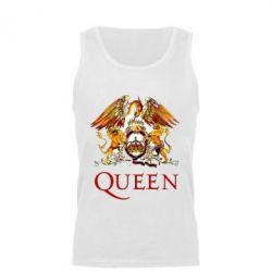 Мужская майка Queen logo 1