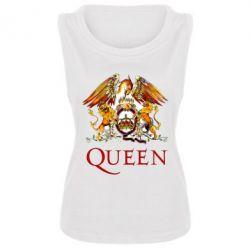 Женская майка Queen logo 1