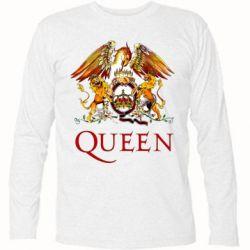 Футболка с длинным рукавом Queen logo 1