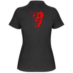 Женская футболка поло Queen music