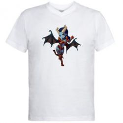Мужская футболка  с V-образным вырезом Queen of Pain - FatLine