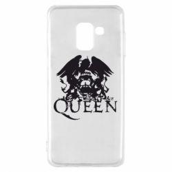 Чохол для Samsung A8 2018 Queen