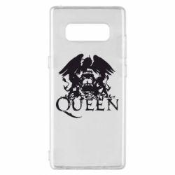 Чехол для Samsung Note 8 Queen