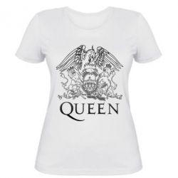 Женская футболка Queen