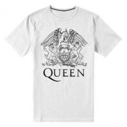 Мужская стрейчевая футболка Queen