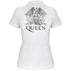 Женская футболка поло Queen