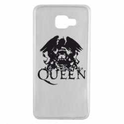 Чехол для Samsung A7 2016 Queen