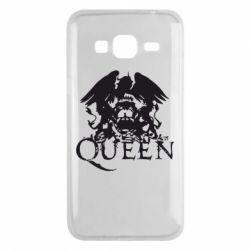 Чехол для Samsung J3 2016 Queen
