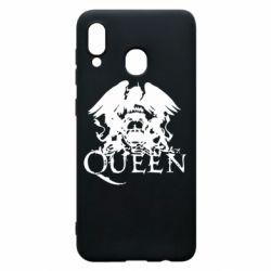 Чехол для Samsung A20 Queen