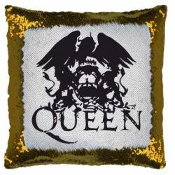 Подушка-хамелеон Queen