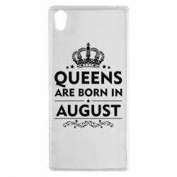 Чохол для Sony Xperia Z5 Queens are born in August - FatLine