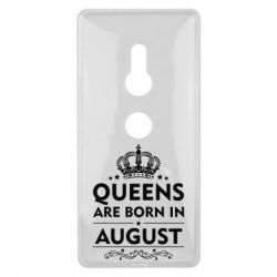 Чохол для Sony Xperia XZ2 Queens are born in August - FatLine
