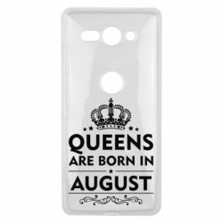 Чохол для Sony Xperia XZ2 Compact Queens are born in August - FatLine
