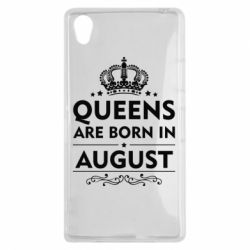 Чохол для Sony Xperia Z1 Queens are born in August - FatLine