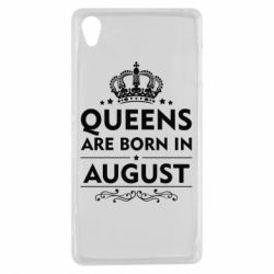 Чохол для Sony Xperia Z3 Queens are born in August - FatLine