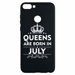 Чехол для Huawei P Smart Queens are born in July - FatLine