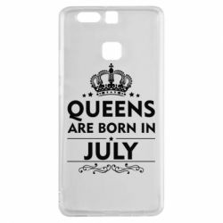 Чехол для Huawei P9 Queens are born in July - FatLine