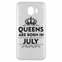 Чехол для Samsung J4 Queens are born in July - FatLine