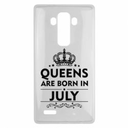 Чехол для LG G4 Queens are born in July - FatLine
