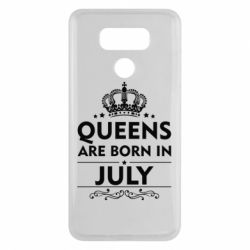 Чехол для LG G6 Queens are born in July - FatLine