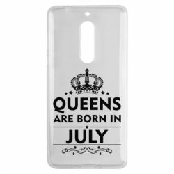 Чехол для Nokia 5 Queens are born in July - FatLine