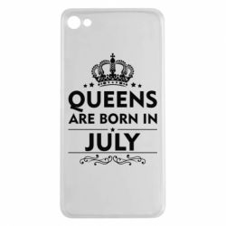 Чехол для Meizu U20 Queens are born in July - FatLine