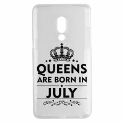 Чехол для Meizu 15 Plus Queens are born in July - FatLine