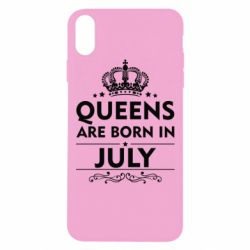 Чехол для iPhone Xs Max Queens are born in July - FatLine
