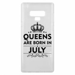 Чехол для Samsung Note 9 Queens are born in July - FatLine