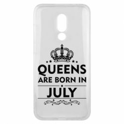 Чехол для Meizu 16x Queens are born in July - FatLine