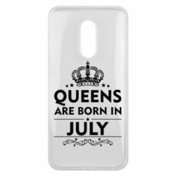 Чехол для Meizu 16 plus Queens are born in July - FatLine