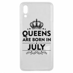 Чехол для Meizu E3 Queens are born in July - FatLine