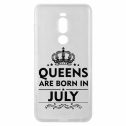 Чехол для Meizu Note 8 Queens are born in July - FatLine