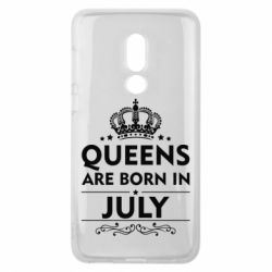 Чехол для Meizu V8 Queens are born in July - FatLine