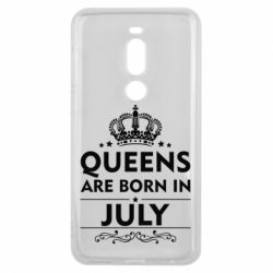 Чехол для Meizu V8 Pro Queens are born in July - FatLine
